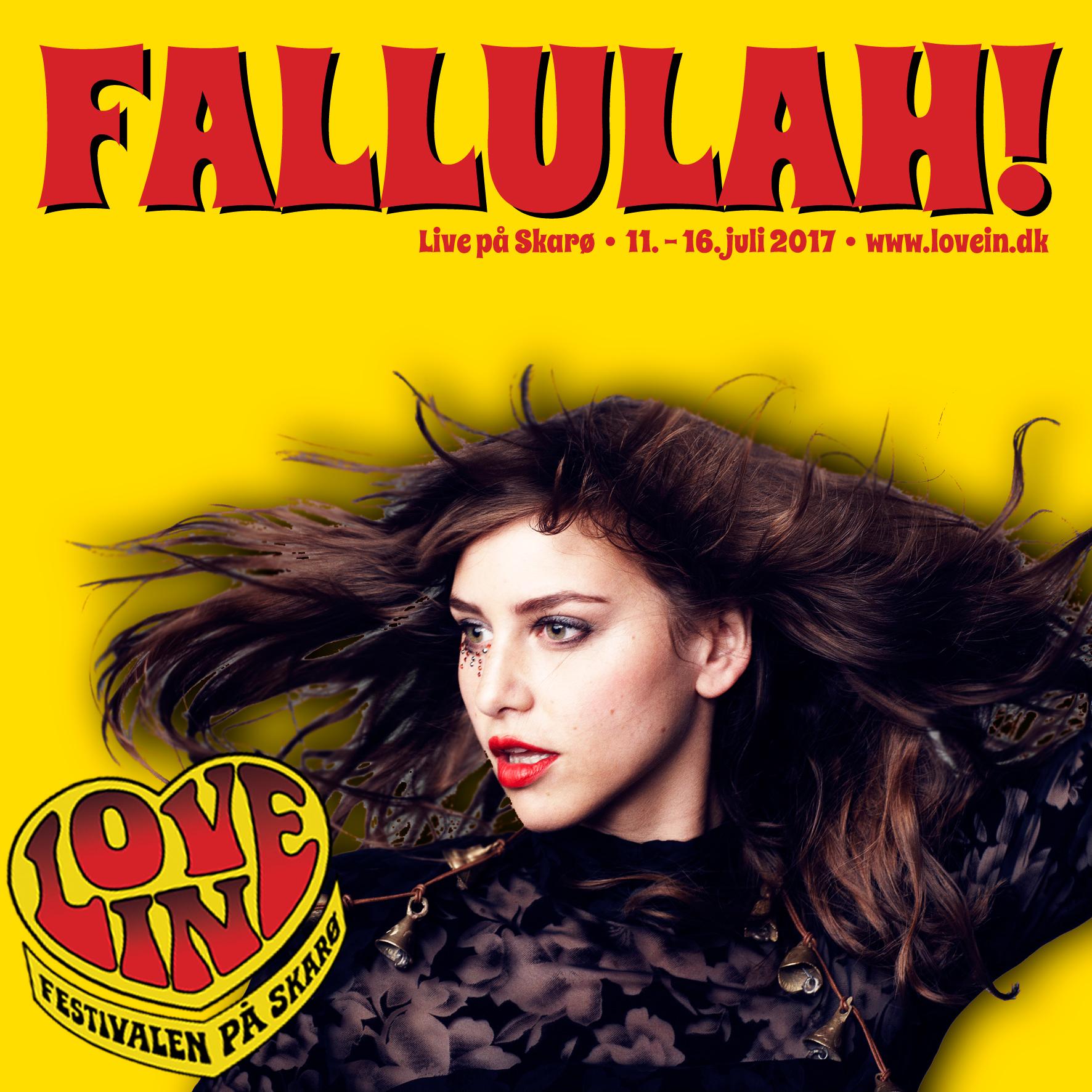Fallulah gæster Love In - og vi glæder os!