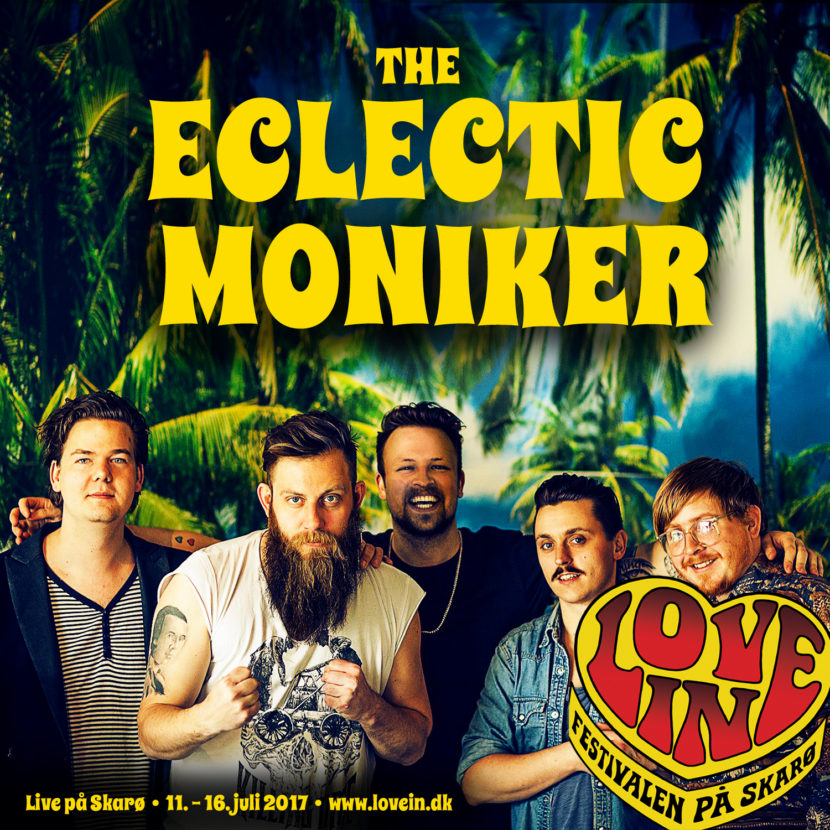 Love In-husorkester The Eclectic Moniker kommer igen til Skarø!