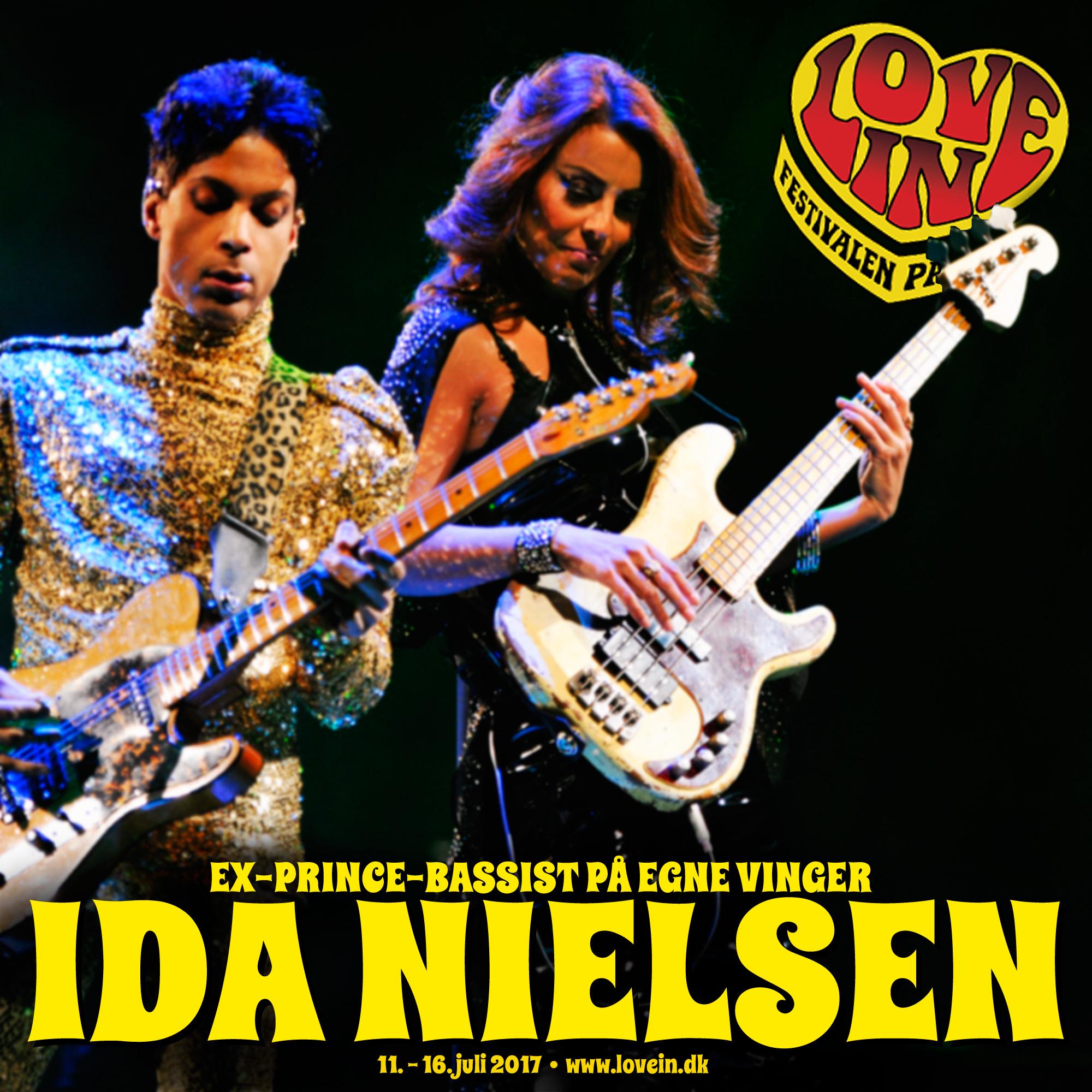 Tidligere Prince-bassist Ida Nielsen gæster Love In med sit funky band