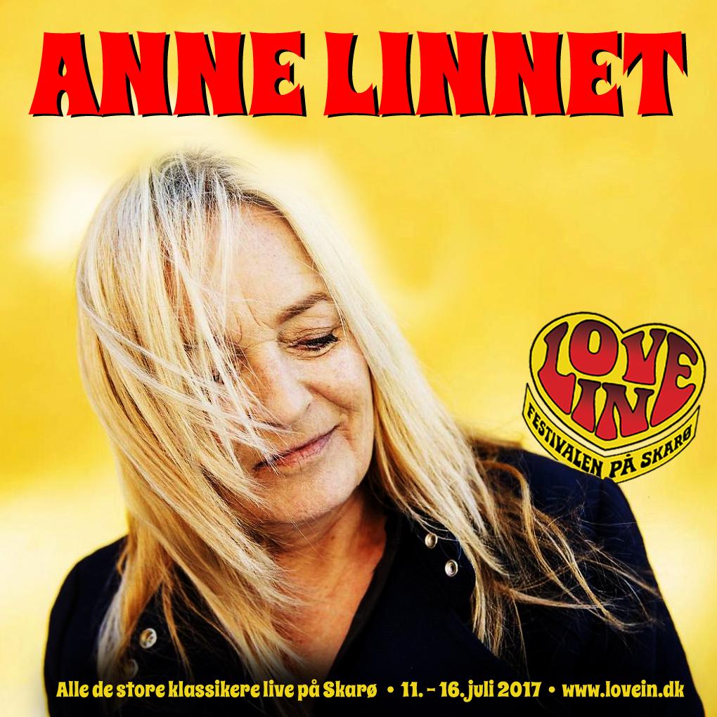 Anne Linnet spiller alle de store klassikere på Love In