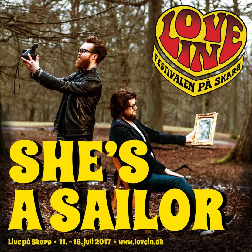She's A Sailor gæster Love In med catchy og spændende pop