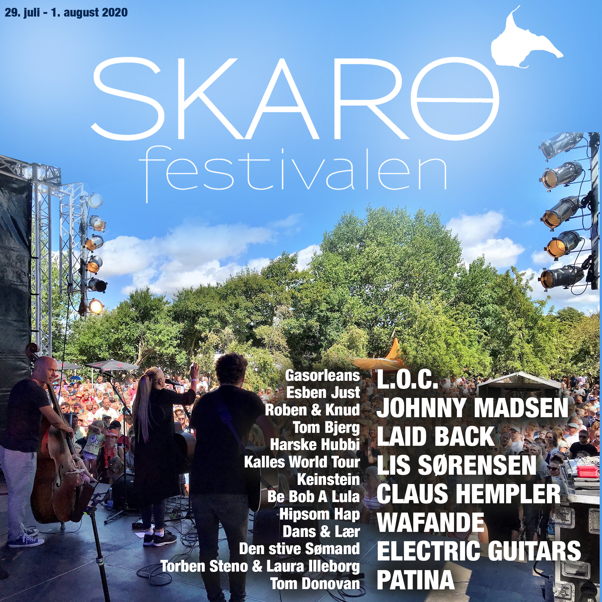 Det samlede program for Skarøfestivalen 2020